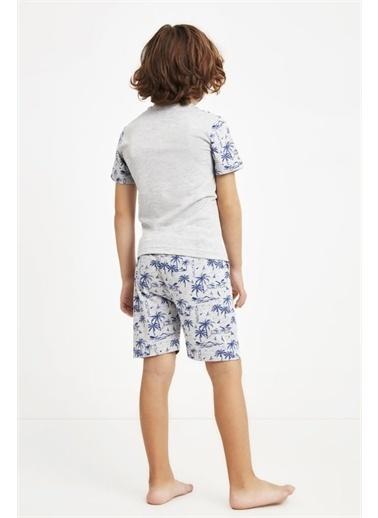 Nautica Pijama Takım Gri